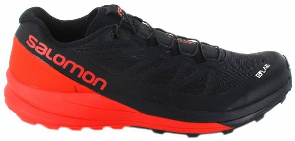 buy online fa20a e8521 Salomon S-Lab Sense Ultra Black Racing Red White