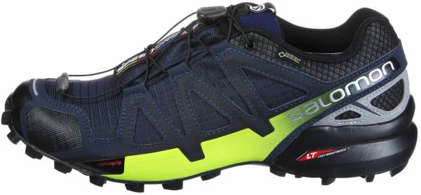 Salomon Speedcross 4 Nocturne GTX Blau (Navy Blazer Ombre Blue Lime Punch. 353fb74395