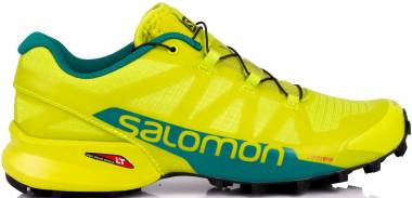 Salomon Speedcross Pro 2 - Verde Acid Lime Deep Lake Black 000 (L400702)