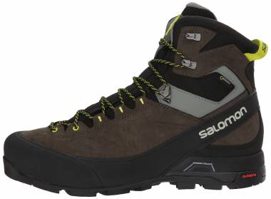 Salomon X Alp MTN GTX - Black Black Beluga Lime Punch 000 (L398402)