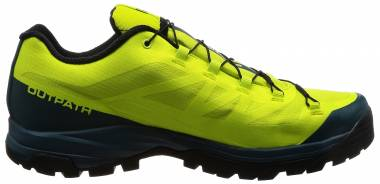 Salomon OUTpath GTX - Green Lime Punch Reflecting Pond Black 490 (L394490)