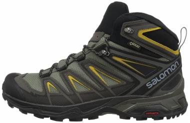 Salomon X Ultra 3 Mid GTX - Grey/Green (L401337)