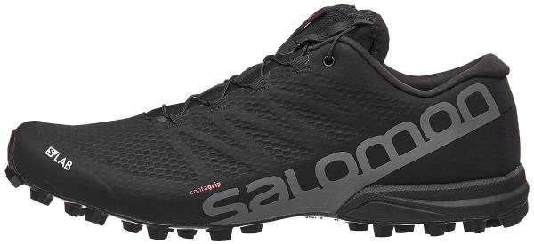 Details about Salomon SLab Speed 2 Lightweight Trail Running Shoes SS18 BlackRacing RedWh