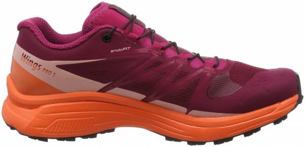 Salomon Wings Pro 3 - Red Beet Red Nasturtium Coral Almond 000 (L401473)