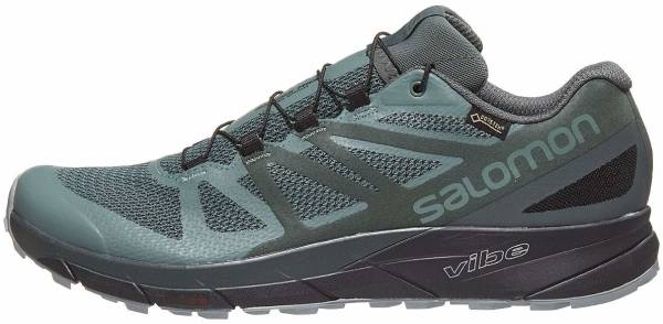 Salomon Sense Ride GTX Invisible Fit Trail Running Shoe Men's