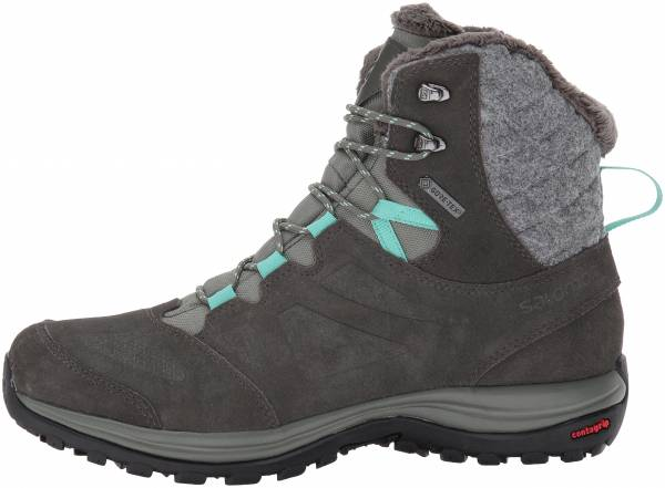 Salomon Ellipse Winter GTX Castor Gray/Beluga/Biscay Green