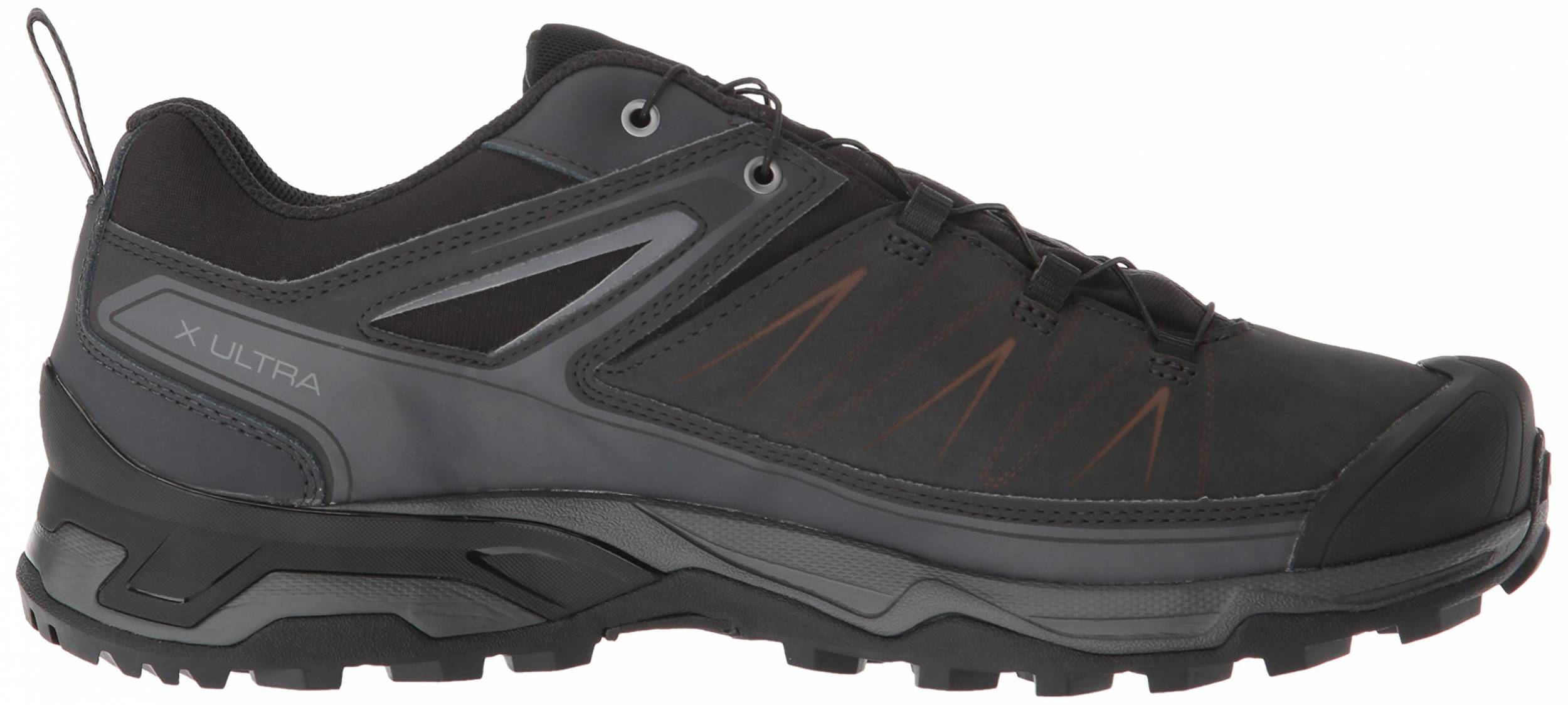 salomon men's outline low gtx hiking shoe magnet xr