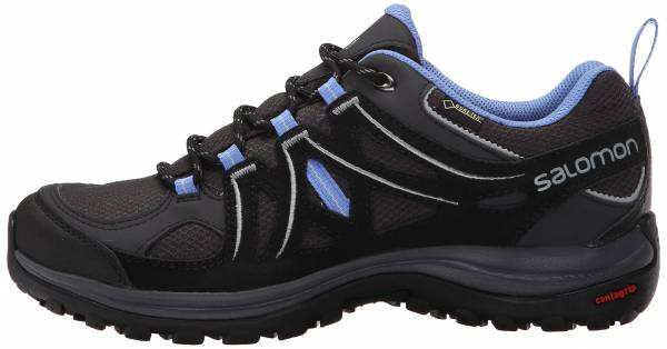 Salomon Ellipse 2 GTX - Gris Asphalt Black Petunia Blue 000 (L381629)