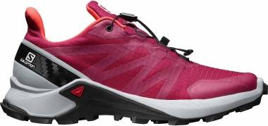 Salomon Supercross - Cerise./Pearl Blue/Fiery Coral (L409304)