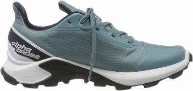 Salomon Alphacross GTX - Blue Smoke Blue White India Ink Smoke Blue White India Ink (L409610)