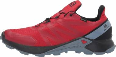 Salomon Supercross GTX - Barbados Cherry / Black / Flint Stone