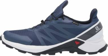 Salomon Supercross GTX - Sargasso Sea / White / India Ink