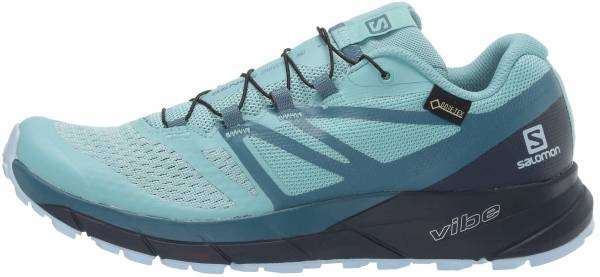 Salomon Sense Ride 2 GTX Invisible Fit - Nile Blue Navy Blazer Mallard Blue
