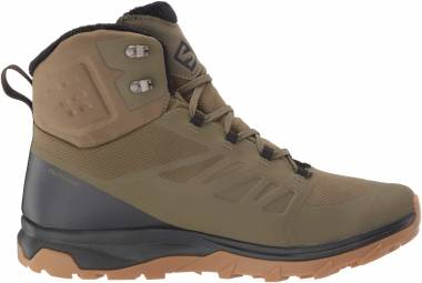Salomon OUTblast TS CSWP - Burnt Olive/Phantom/Black (L407958)