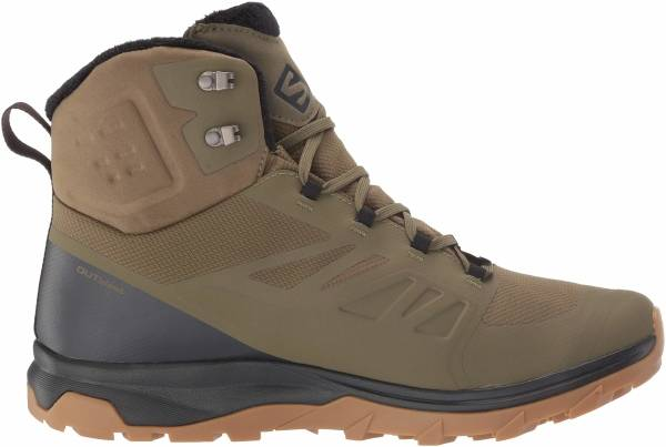 Salomon OUTblast TS CSWP - Burnt Olive/Phantom/Black