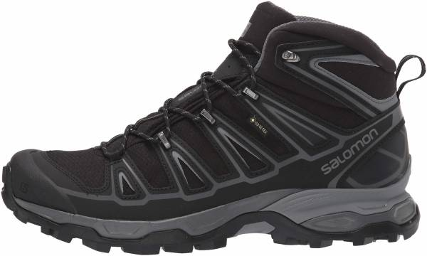 Salomon X Ultra Mid 2 Spikes GTX - Black/Black/Quiet Shade (L404752)