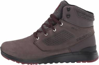 Salomon Utility Winter CS WP - Shale/Black/Syrah (L407975)