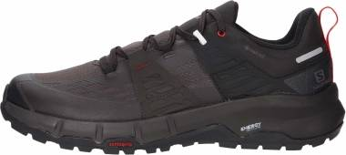 Salomon Odyssey GTX - Black/Shale/High Risk Red (L411449)