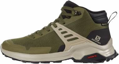 Salomon X Raise Mid GTX - Olive Night/Black/Vintage Kaki (L410958)