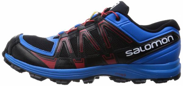 Salomon Fellraiser men multicolor (black/methyl blue/quick)