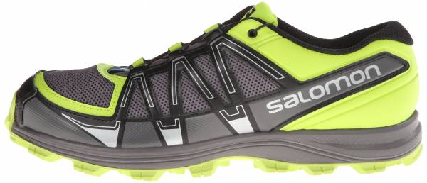 Salomon Fellraiser men black / autobahn / green
