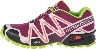 Salomon Speedcross 3 - Mystic Purple Light Grey Granny Green (L379302)