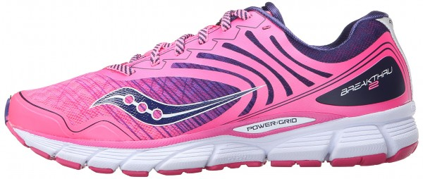 Saucony Breakthru 2 woman pink/navy