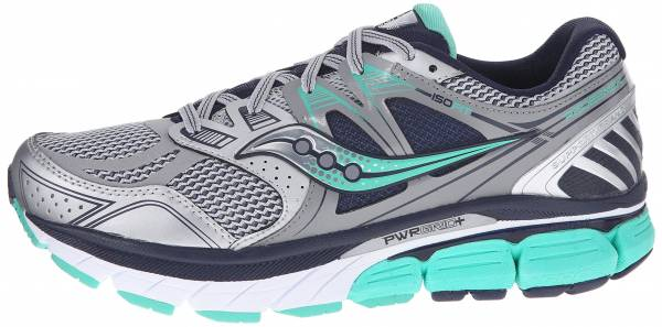 Saucony Redeemer ISO woman silver/green/blue