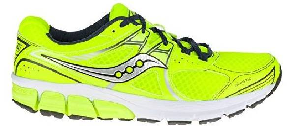 Saucony Mystic men giallo fluo (citron/navy)