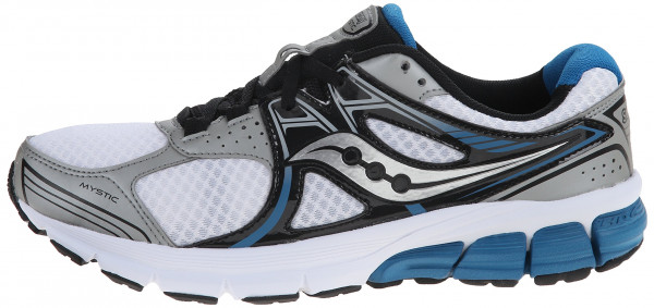 Saucony Mystic men silver/black/blue