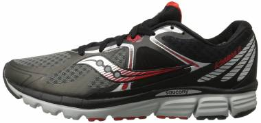 Saucony Kinvara 6 - Black Grey Red