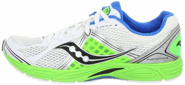 Saucony Fastwitch 6 White/Lime/Black