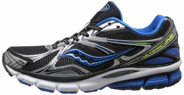 Saucony Hurricane 16 Black/Blue/Citron Men