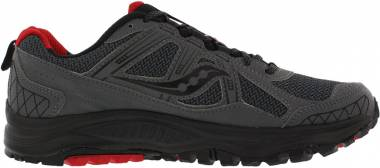 Saucony Excursion TR 10 Grey/Black/Red Men
