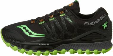 Saucony Xodus ISO Runshield Black | Slime | Vizipro Orange Men
