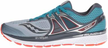 Saucony Triumph ISO 3 - Grey Blue Red (S203462)