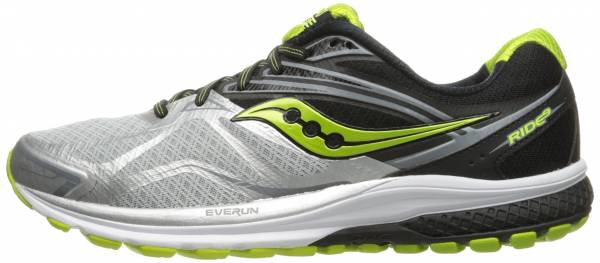 Saucony Ride 9 - Silver/Black/Lime (S203186)