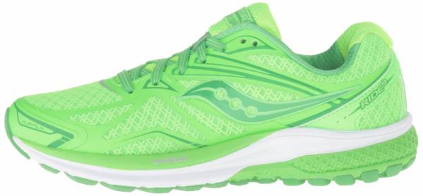 Saucony Ride 9 woman multicolore (toe the lime)