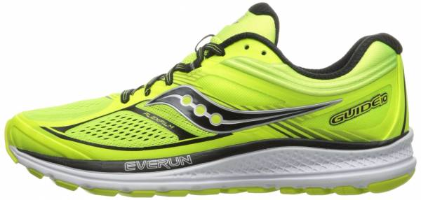 Saucony Guide 10 men lime/black/cotton