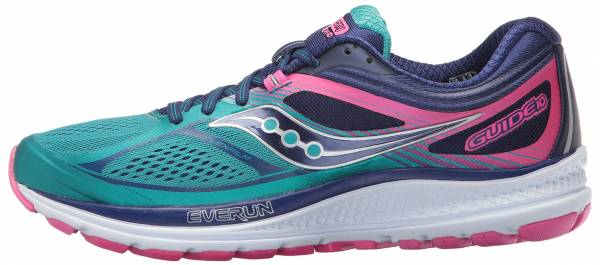 Saucony Guide 10 woman teal/navy/pink