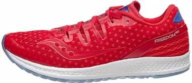 Saucony Freedom ISO Red/White/Blue Men