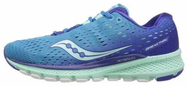 saucony breakthru men's running shoes