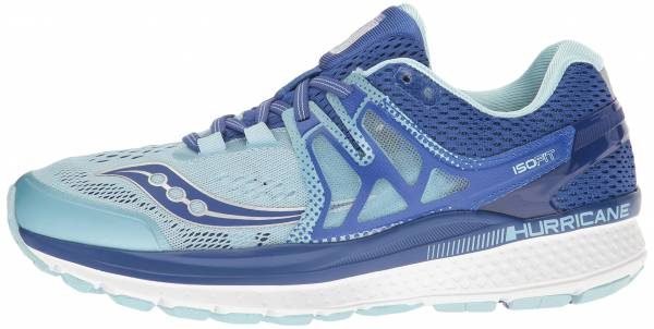 Saucony Hurricane ISO 3 woman blue/light blue