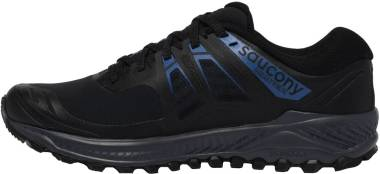 Saucony Peregrine Ice+ - Black/Blue (S205412)