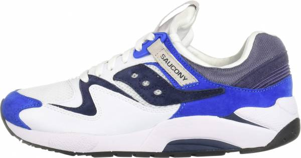Saucony Grid 9000 - White/Blue (S704391)