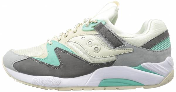 low priced 9cfef d1a11 Saucony Grid 9000 Grey
