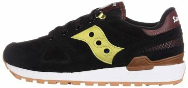 the best attitude 262aa e3507 Saucony Shadow Original Suede Black Gold Men