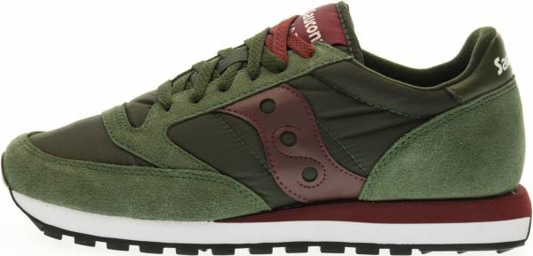 Saucony Jazz Original - Green Burgundy (S2044374)