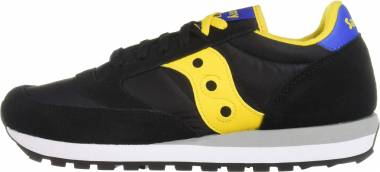 Saucony Jazz Original - Black/Yellow/Blue