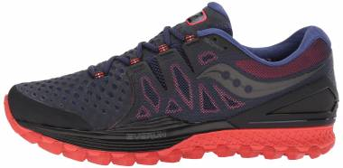 Saucony Xodus ISO 2 - Black 47 Orange (S203871)